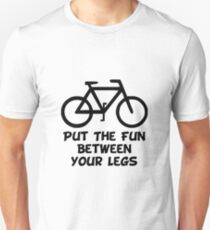 Bike Between Legs T-Shirt