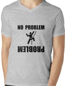 Climbing Problem Mens V-Neck T-Shirt