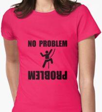 Climbing Problem Womens Fitted T-Shirt