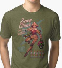 Varia Bombshell Tri-blend T-Shirt