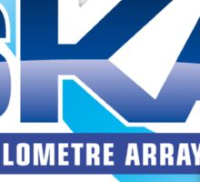 The New Square Kilometer Arry Program Logo Sticker