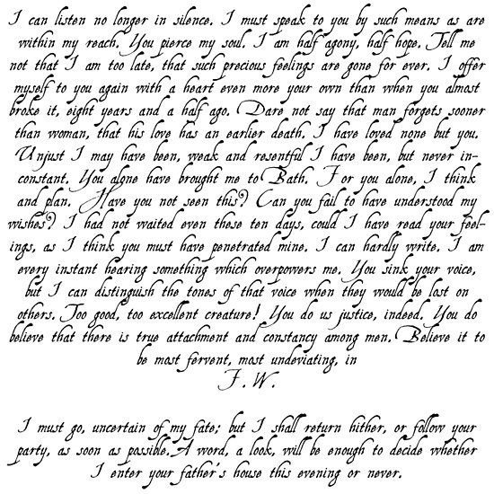Image result for wentworth's letter