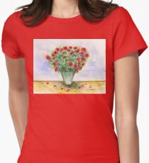Red Roses in a Vase T-Shirt