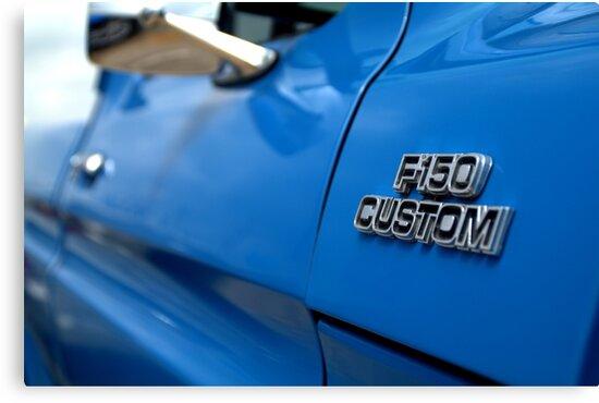 1977 Ford F 150 Custom Name Plate by Brian Harig