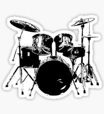 Drummer Sticker