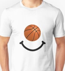 Basketball Smile Unisex T-Shirt