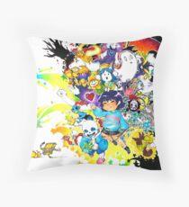 DETERMINATION (final version) Throw Pillow