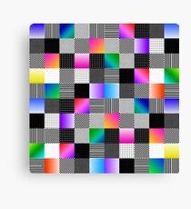 Mondrian Couture Canvas Print