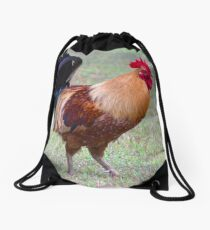Infamous Kauai Chicken Drawstring Bag