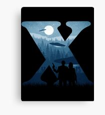 Alien Intervention Canvas Print