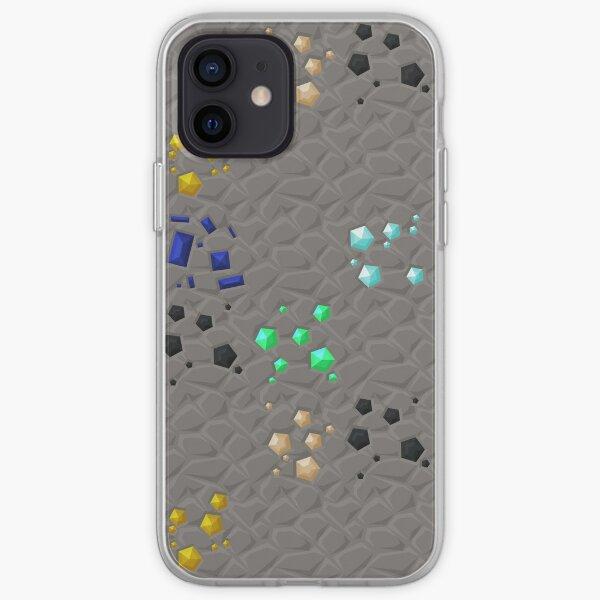Overworld ores - PureBDcraft iPhone Soft Case
