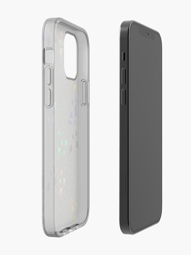 Alternate view of Overworld ores - PureBDcraft iPhone Case & Cover