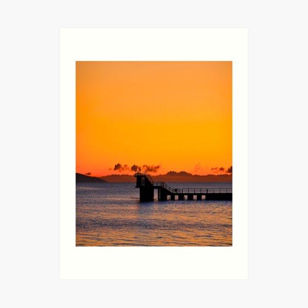 Galway Bay Sunset Art Print