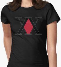 Hunter X Hunter Symbol Womens Fitted T-Shirt