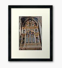 Heavenly Pipes Framed Print