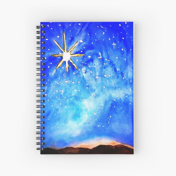 Oh Holy Night Spiral Notebook