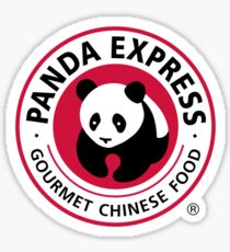 Panda Express Gourmet Chinese Food Sticker Sticker