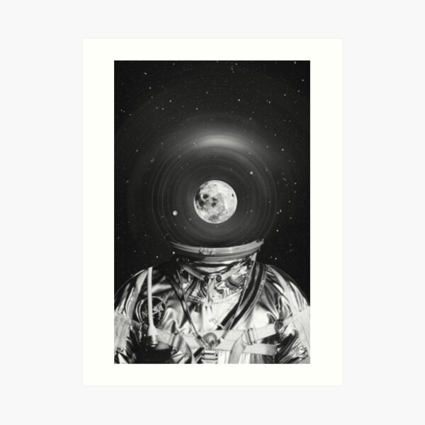 Black & White Collection -- Universe Creator Art Print