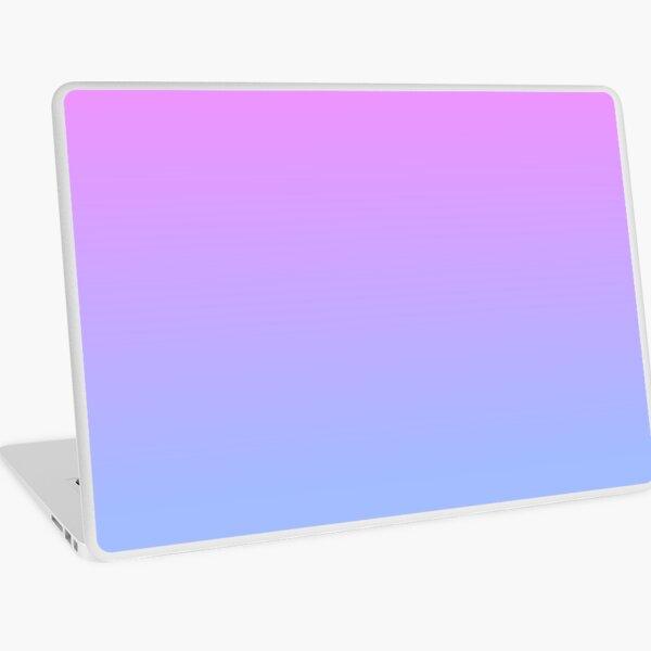 Amethyst/Blue gradient Laptop Skin