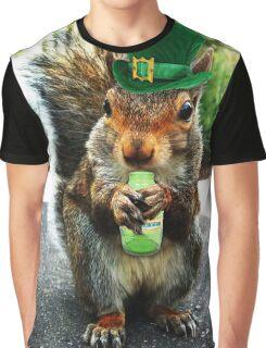 drunk squirrel Graphic T-Shirt