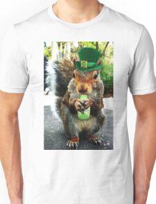 drunk squirrel Unisex T-Shirt