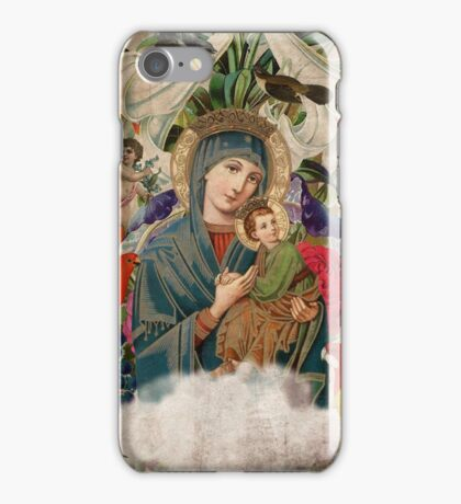 Saints Collection -- Madonna and Child iPhone Case/Skin