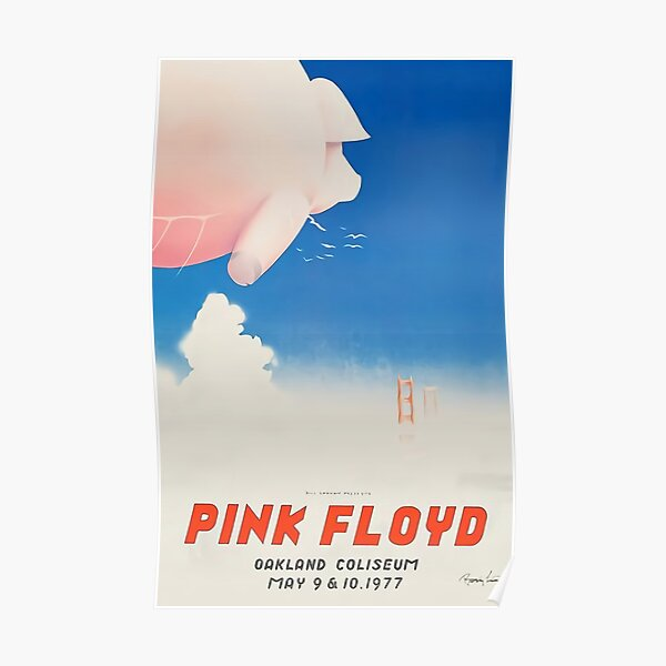 Pink Floyd - Original concert Poster