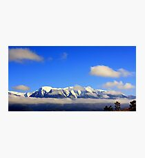 The Mission Mountains Photographic Print