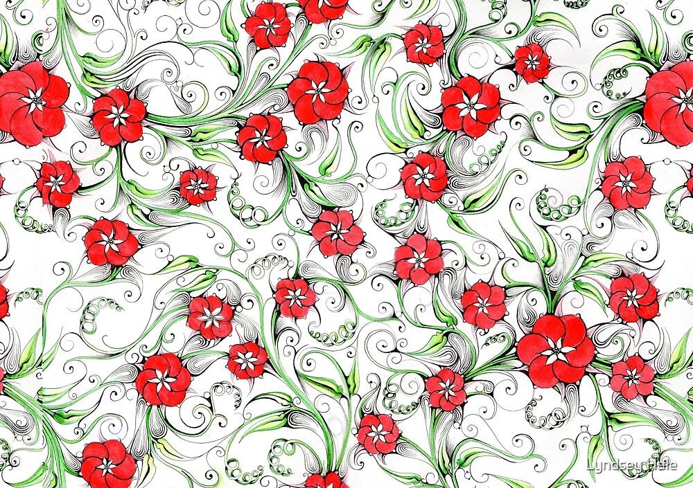 Forbidden Fruit pattern by Lyndsey Hale