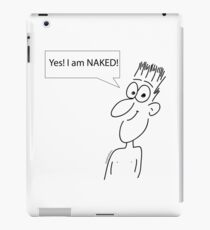 Naked iPad Case/Skin