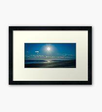 Sunny Seaside Framed Print