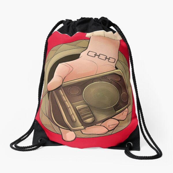 The Cry for Help Drawstring Bag