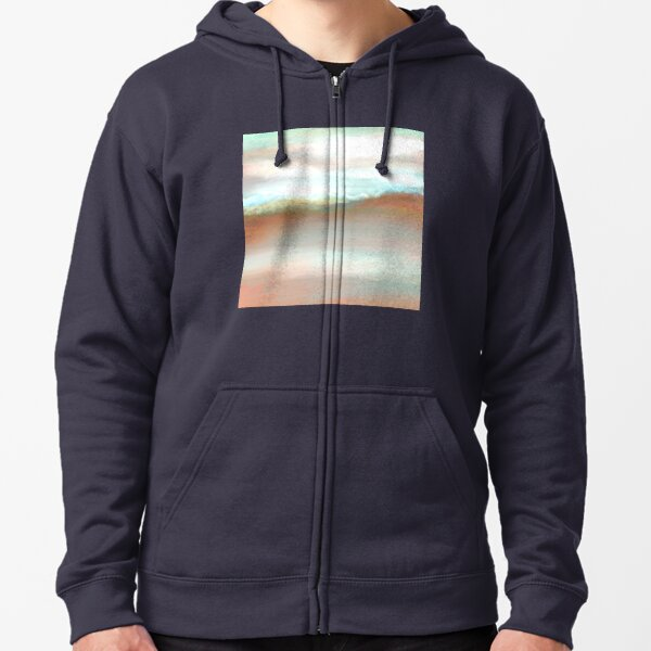 Misty Mountains Zipped Hoodie