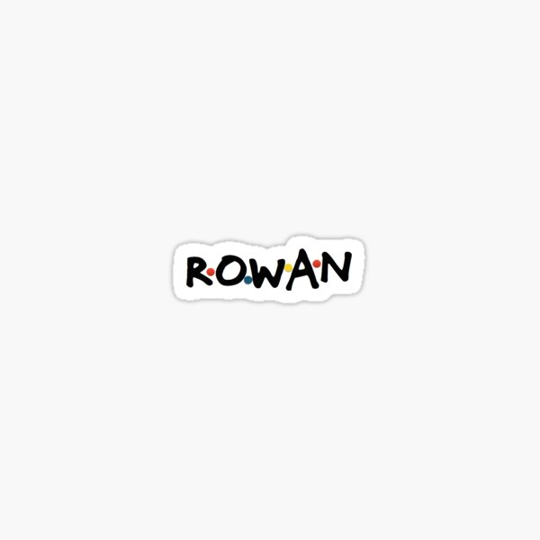 Rowan 90's Sticker