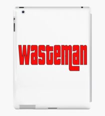 WasteMan Shirt iPad Case/Skin