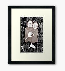 Twin  Victim Framed Print