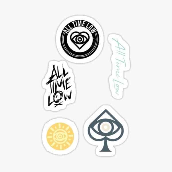 All Time Low Sticker set 2 Sticker