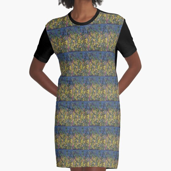 first kiss Graphic T-Shirt Dress