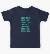 Bitcoin Binary (Silicon Valley) Kids Tee