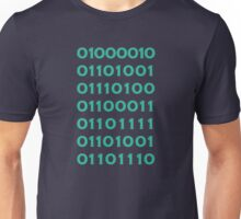 Bitcoin Binary (Silicon Valley) Unisex T-Shirt