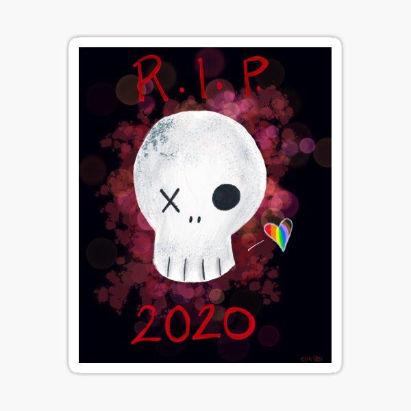 RIP 2020 Sticker