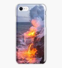 Kilauea Volcano Lava Flow Sea Entry 3- The Big Island Hawaii iPhone Case/Skin