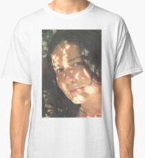Self Portrait - in my garden Classic T-Shirt