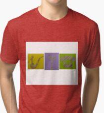 Pipe Candelabra Phone Tri-blend T-Shirt