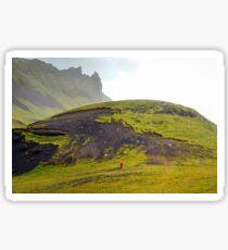 South Iceland Landscape Sticker