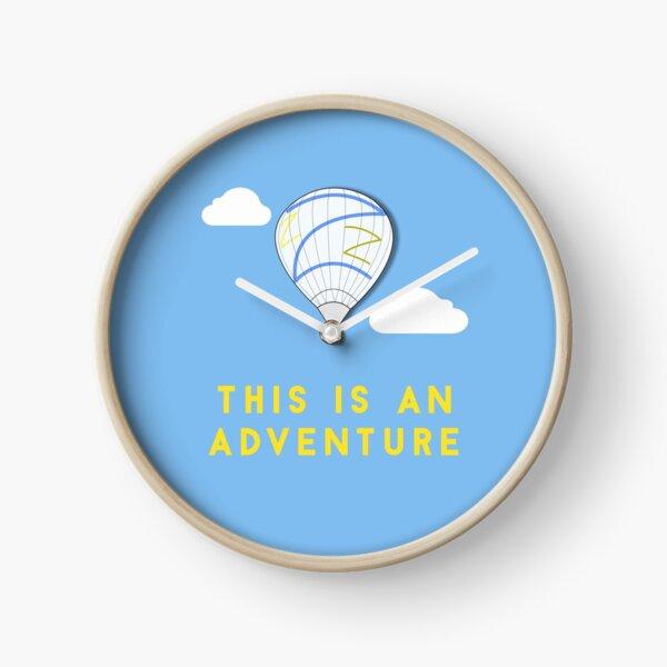 This is an adventure - Balloon - Zissou Clock