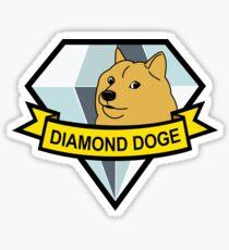 Diamond Doge Sticker