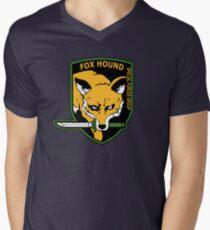 MGS -  Foxhound SFG Logo Men's V-Neck T-Shirt