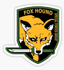 MGS -  Foxhound SFG Logo Sticker