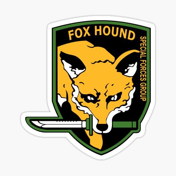 MGS - Foxhound SFG Logo Sticker